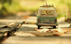Photography Vintage Toy Volkswagen Car HD Wallpaper Wallpaper
