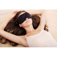 1Pcs New Travel Eye Mask Nap Sleep Rest 3D Eye Shade Sleeping Mask Cover Black Eyeshade Rest Health Care Product Sleeping Mask