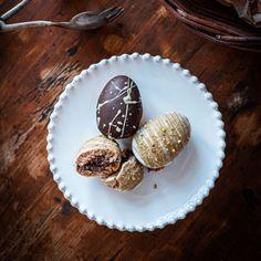 Plněná perníková vajíčka - Globus Globus Muffin, Breakfast, Recipes, Food, Cakes, Globe, Morning Coffee, Cake Makers, Essen