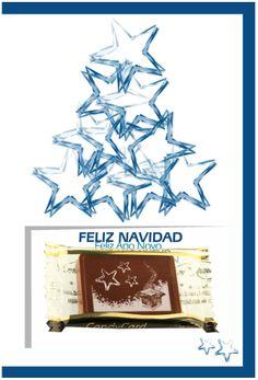 ¡Tarjetas de Navidad con una deliciosa creación de chocolate nuestra! Chocolate, Movie Posters, Christmas Postcards, Bonbon, Candy, Messages, Christmas Cards, The Creation, Film Poster
