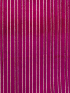 HIGH POINT STRIPE FUSCHIA #geometrics #patterns #red-pink-purple #velvet #woven-fabrics