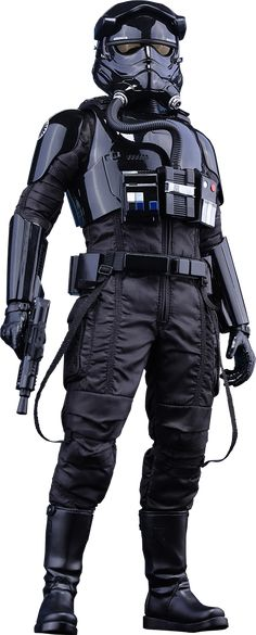 A high-flying stormtrooper is ready to target the Resistance with the Star Wars First Order TIE Fighter Pilot Sixth-Scale Figure. Based on the new design of the Star Wars Rpg, Star Wars Toys, Star Trek, Tie Fighter, Fighter Pilot, Star Destroyer, Star Wars Characters, Star Wars Episodes, Sith
