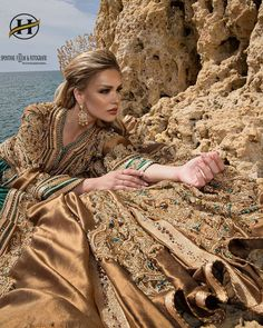 Morrocan Dress, Moroccan Bride, Moroccan Wedding, Moroccan Caftan, Pakistani Dresses, Huda Beauty, Traditional Outfits, Textiles, Different Styles