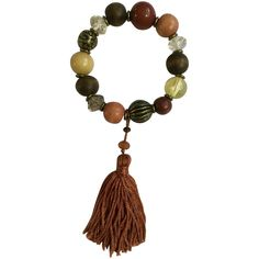 Autumn Beaded Bracelet with Dangling Tassel Fall Earth-Tone Colors Earth Tone Colors, Earth Tones, Vintage Fall, Autumn Inspiration, Artisan Jewelry, Autumn Leaves, Tassel Necklace, Tassels, Jewelry Bracelets
