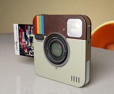 Instagram Socialmatic Camera | ADR studio | http://www.adr-studio.it/site/?p=399