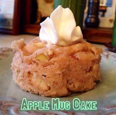 Apple Mug Cake Nutrition: Serving Size: 1 cake 154 calories 0 g fat 0 mg cholesterol 105 mg sodium 35 g carbohydrates 2 g fiber 7 g sugar 4 g prot...