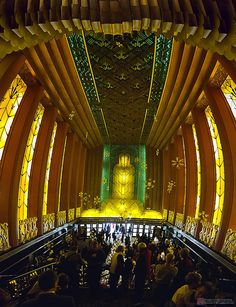 Inside Oakland, California's Paramount Theatre by Kenneth Young