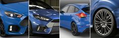 The difference between the European and U.S. versions of the upcoming #Ford #Focus RS.