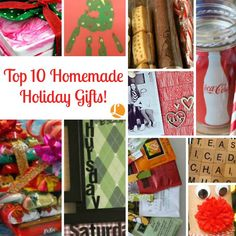 Don't you just LOVE receiving a thoughtful holiday gift that is made from the heart. It makes your gift more meaningful and memorable. Take a look at these fun, easy peasy creative holiday presents you can create on your own!