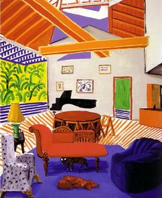 David Hockney - Interior