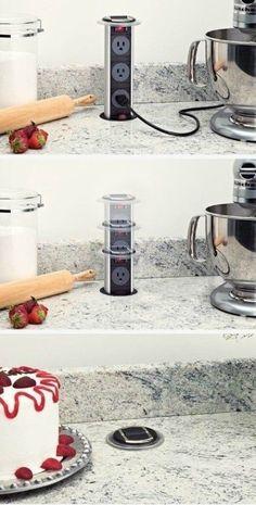 Diy home decor kitchen storage projects 25 Super Ideas Kitchen Room Design, Home Decor Kitchen, Diy Kitchen, Kitchen Furniture, Kitchen Interior, Diy Home Decor, Kitchen Ideas, Kitchen Island Storage, Classic Kitchen