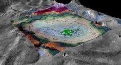 G.A.B.I.E.: Marte tuvo un lago potencialmente habitable, según...