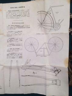 Additional instructions that came with the Campagnolo FB made hubs.