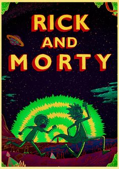 Living room home wall decoration retro Poster Rick and Morty Adult Swim Adult Swim cartoons cartoons space animation planet Rick And Morty Comic, Rick Und Morty, Rick And Morty Poster, Christmas Cartoons, Christmas Poster, Christmas Humor, Wallpaper Backgrounds, Iphone Wallpaper, Wallpaper Ideas