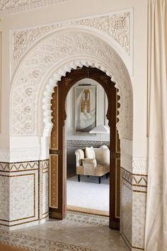 La Mamounia marrakech morocco  white on white