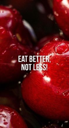 Eat better not less- An important tip for gettting in shape the healthy way/ Fitness Motivation / Workout Quotes / Gym Inspiration / Motivational Quotes / Motivation Fitness Motivation Wallpaper, Fitness Motivation Pictures, Health Motivation, Quotes Motivation, Bikini Motivation, Workout Motivation, Nutrition Quotes, Fitness Nutrition, Health And Nutrition
