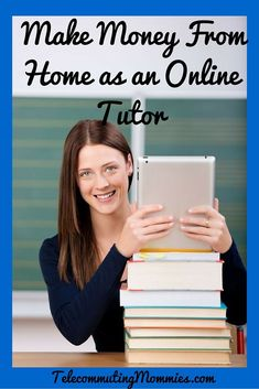 Make Money Working from Home as an Online Tutor