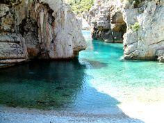 Stiniva beach. Island of Vis, Croatia