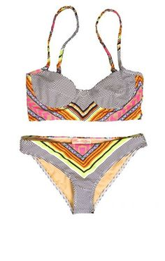 MARA HOFFMAN swimwear, aztec print bikini