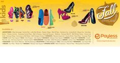 Step into the fall season with Payless' New Fall Collection!
