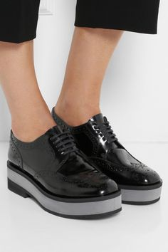 bd6caf0bcd8f Clergerie - Irvina leather platform brogues