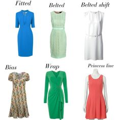 dresses for neat hourglass body shape                                                                                                                                                     More