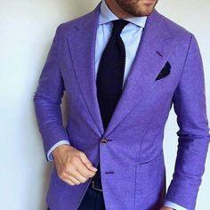 Purple Linen!