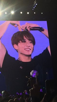 Find images and videos about bts, jeon jungkook and concert on We Heart It - the app to get lost in what you love. Jungkook Selca, Jungkook Cute, Kookie Bts, Stevie Ray Vaughan, Lindsey Stirling, Keith Richards, Def Leppard, Aerosmith, George Harrison