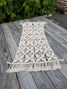 Macrame table runner Wedding table runner Table cloth cotton Macrame table cover Bohemian wedding style https://www.etsy.com/listing/525418438/table-runner-wedding-boho-runner-macrame?ref=shop_home_active_1