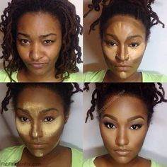 Beauty: How to highlight and contour your face with makeup like a pro?