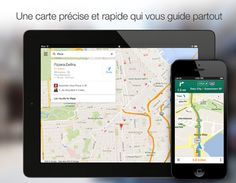 Google Maps v2 with iPad support, live traffic, incident reports and offline map mode l #freeapp #iphone #ipad