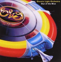 """Electric Light Orchestra - ELO - Out of the Blue - """"Turn to Stone"""" - Jet Records Club Edition 1977 - Vintage Gatefold 2 LP Vinyl Album Greatest Album Covers, Iconic Album Covers, Rock Album Covers, Music Album Covers, Vinyl Cover, Cover Art, Lp Vinyl, Vinyl Records, Elo Albums"""