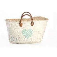 Basket minimaxi HEART - Twenty Violets Store