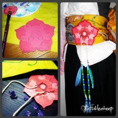 Yuna Cosplay, Yuna Final Fantasy, Flower Belt, Cosplay Characters, Hibiscus Flowers, Haikyuu, Costumes, Headgear, Cosplay Ideas