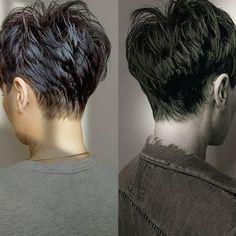 Short Grey Hair, Short Hair With Layers, Funky Short Hair, Black Hair, Short Pixie Haircuts, Short Funky Hairstyles, Short Hair Cuts For Women Pixie, Undercut Pixie Haircut, Pixie Haircut Styles