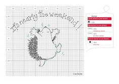 Animals - Hedgehogs - Margaret Sherry's Sketchbook - Text - It's nearly the weekend