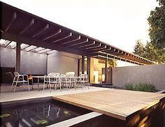Fauntleroy residence outdoor space