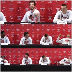 I love this team. On Wisconsin!