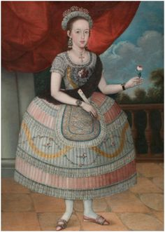 Wellesley's Davis Museum Acquires Peruvian Portrait of a Young Woman   Enfilade