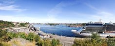 Härlig morgonpromenad på Södermalm