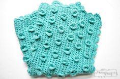 Lily Pad Baby Blanket | AllFreeCrochet.com