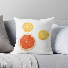 """""""Feeling fruity fresh"""" Throw Pillow by gr8gatsbriela   Redbubble Bubbles, It Is Finished, Throw Pillows, Fresh, Feelings, The Originals, Design, Toss Pillows, Cushions"""