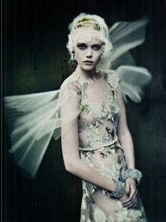 Frida Gustavsson in Vogue Italia, 2011