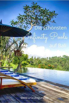 Die beliebte Urlaubsinsel Bali hat so einiges zu bieten. Neben magischen Landschaftszügen, paradiesischen Stränden und traumhaften Surfspots zum Beispiel auch einzigartige Luxusunterkünfte, die mit unbeschreiblich schönen Poollandschaften auf euch warten. Hier kommen die schönsten Infinity Pools auf Bali!