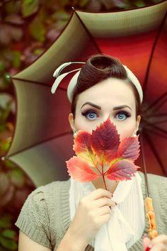 #FallPinLove keltaisen sateenvarjon kans.