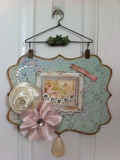 Wall hanging. melissa frances supplies