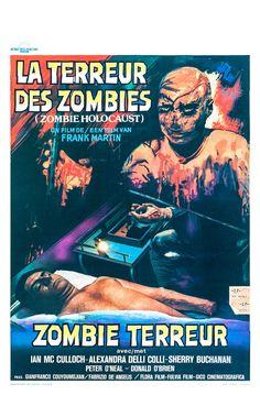 Movie Poster Zombi Cult Gore Horror Rare ZOMBIE HOLOCAUST aka DR BUTCHER M.D