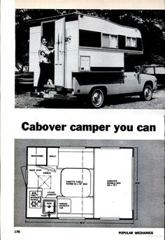 build your own truck camper plans - Google Search | Camping ...