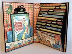 Video tutorial on how to make the Home Sweet Home Recipe Mini Album From start to finish by Anne Rostad