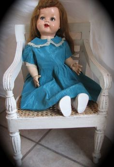 Doll Saucy Walker Ideal Doll comes from the Ruby Lane Shop of Graceful Antiques & Vintage Collectibles.